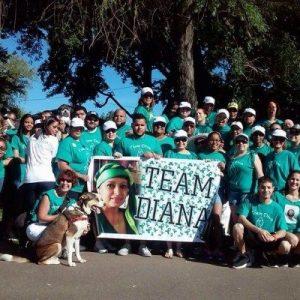 Ovarian Cancer: 'Team Diva Diana'